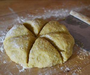 croquants dough for biscotti