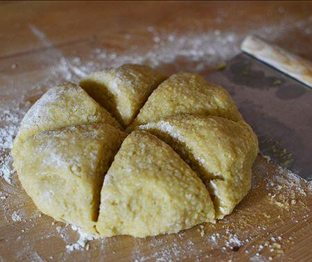 croquants dough for biscotti