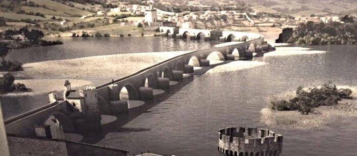 Pont d 'Avignon Construction @Margo_Lestz