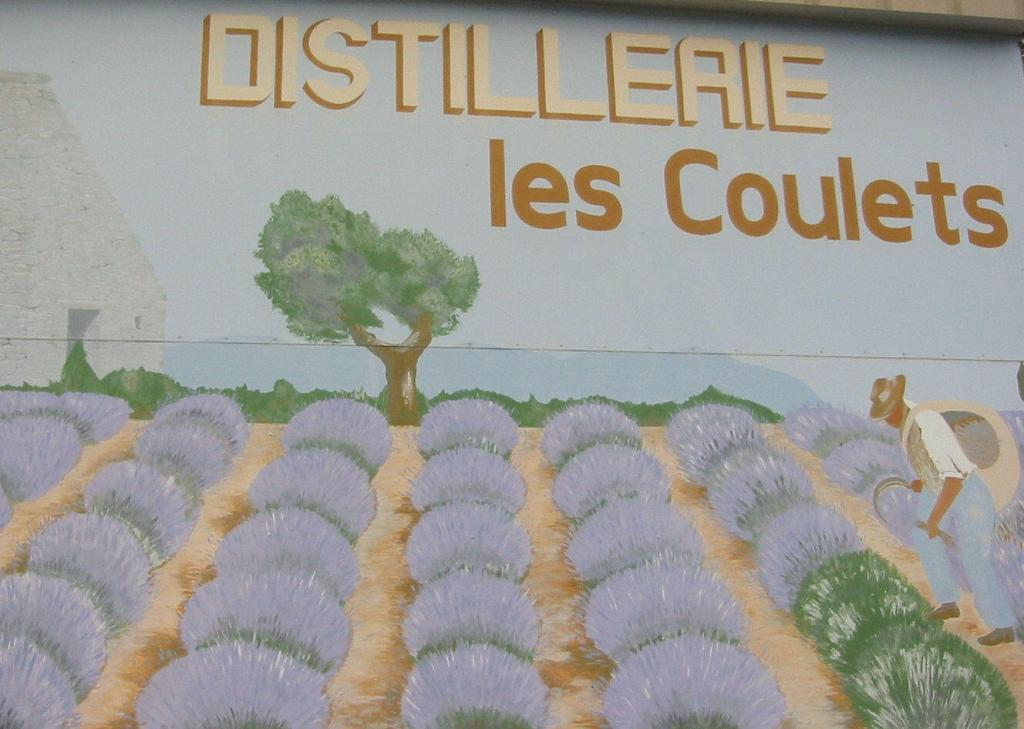 Distillery Lavender in Provence @deb_lawrenson