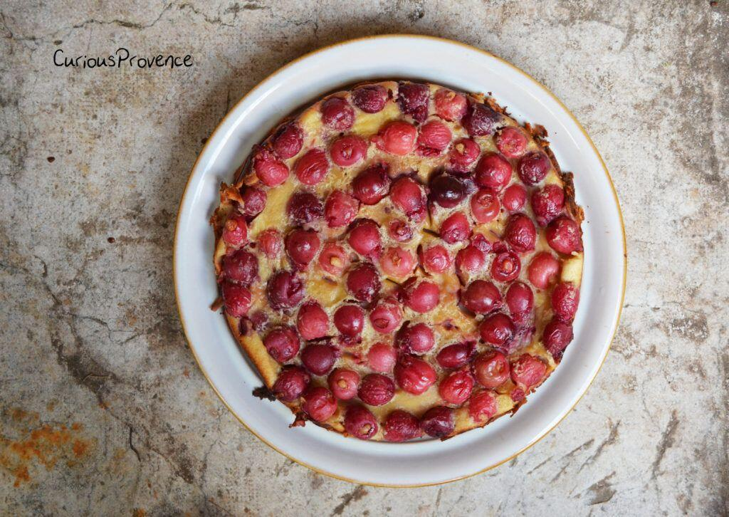 French French Clafoutis Recipe Cherry Clafoutis Recipe @CuriousProvence