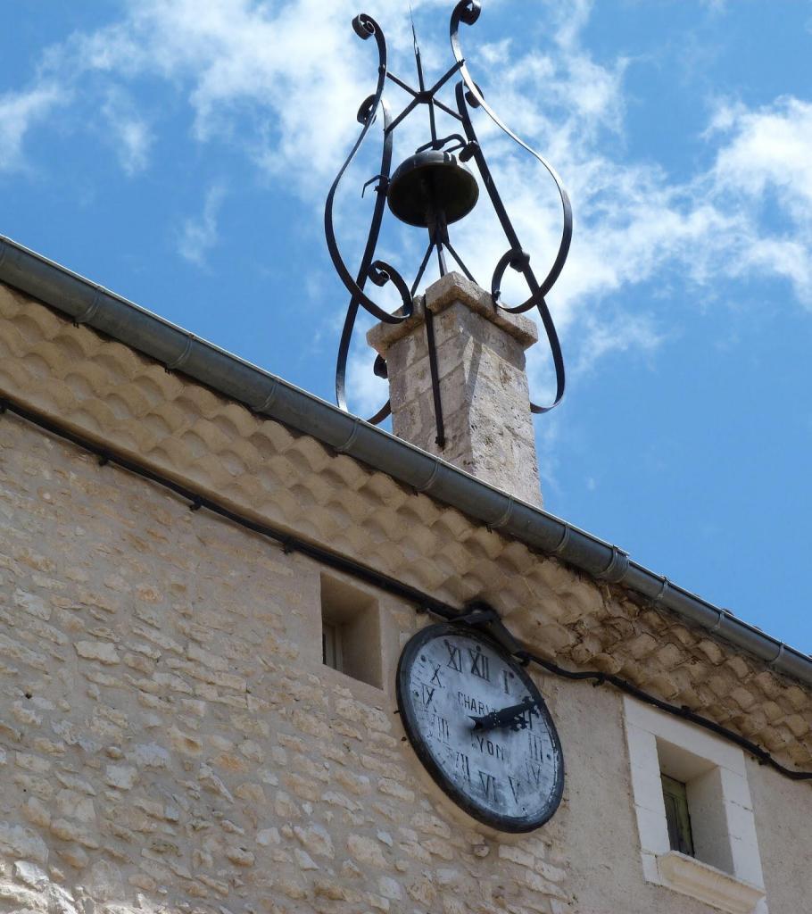 Clock tower at St Christol @deb_lawrenson