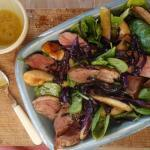 Duck Breast and Roasted Pear Salad