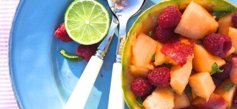 Summer Fruit Salad @Mirabeauwine