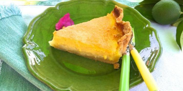Tarte a l'orange Orange tart