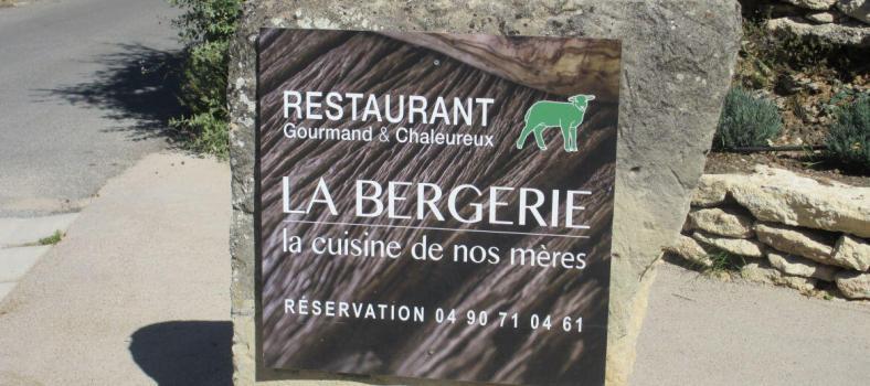 La Bergerie Restaurant Ferme de Capelongue in Bonnieux