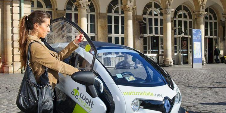 Wattmobile electric scooter Pick-up