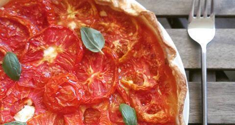 Provencal Tomato Tart @AvignonGourmet