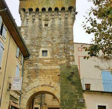 Tricot tower or belfry in Grignan