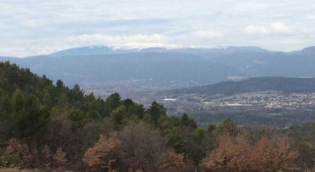 Winter view of Mt Ventoux @Vauclusedreamer