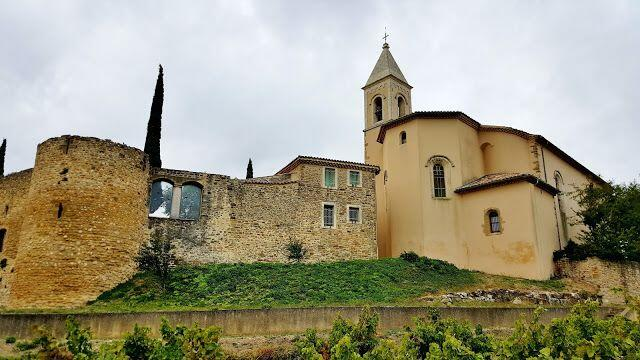 Cairanne views and wine tasting @OurhouseinProvence