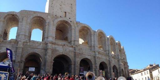 Arles Arena by Keith Van Sickle