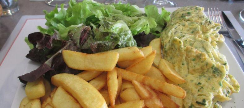 French Bistro meals and fries