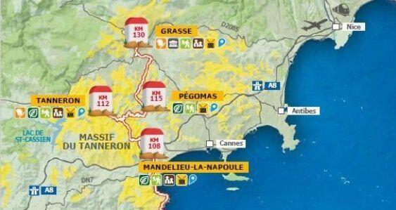 Route de Mimosa Itinerary @Girlgonegallic