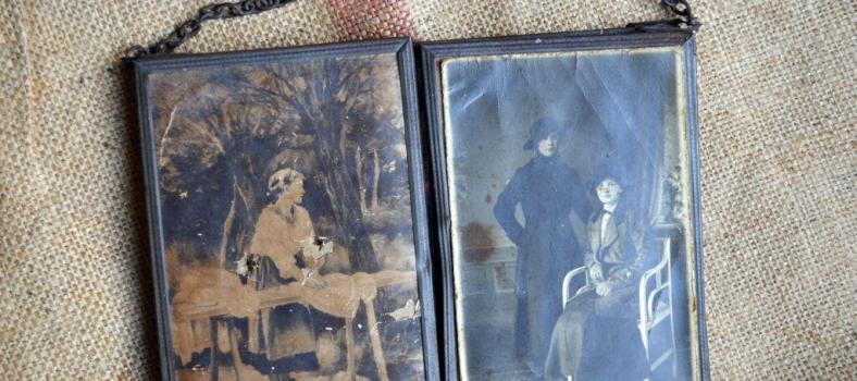 Flea Market Finds Vintage Mirror