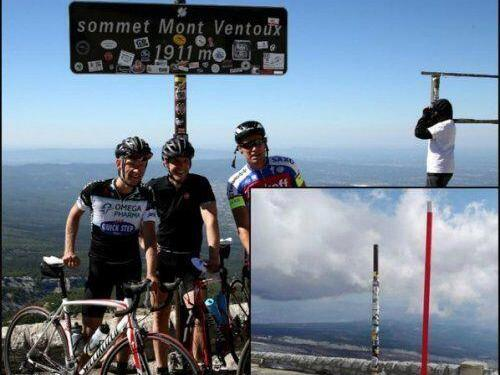 Mont Ventoux Sign