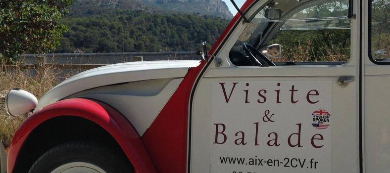 Aix en Provence 2CV Experience Mont Saint Victoire