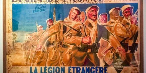 French Foreign Legion Historical Image