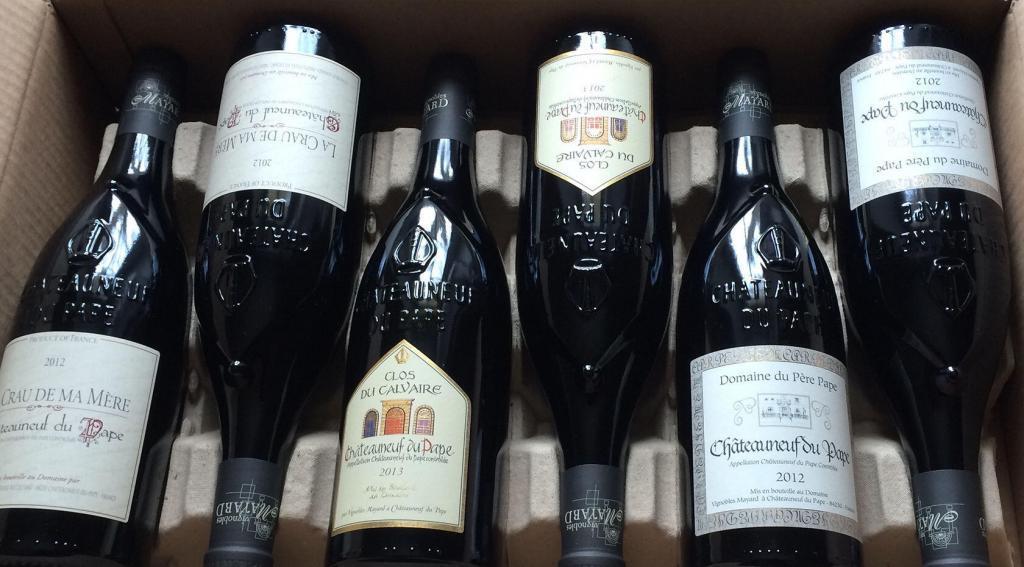 Vignobles Mayard Wine bottles