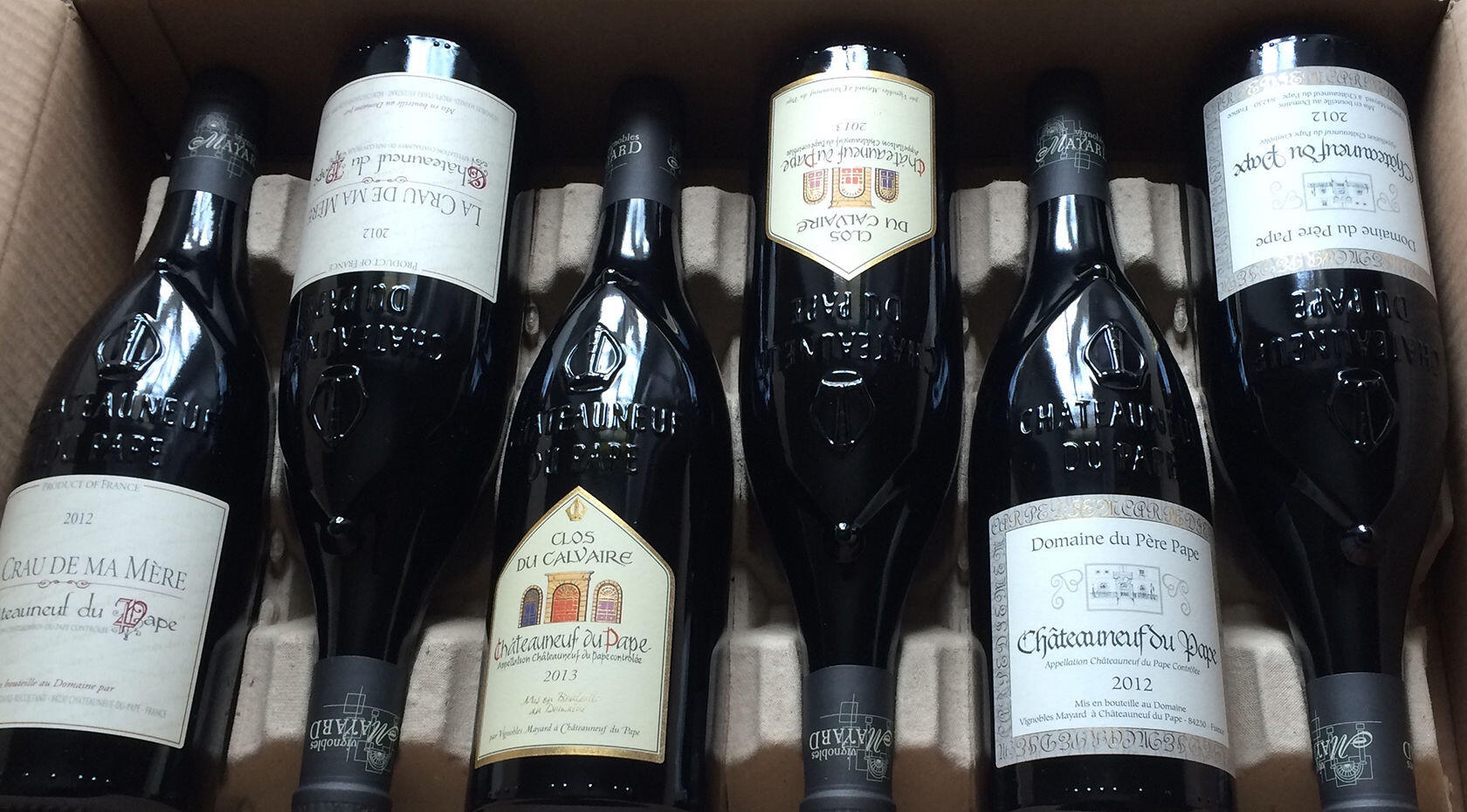 The salon des vins at ch teauneuf du pape for Calendrier salon des vins
