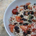 Barley Salad Roasted Tomato and thyme