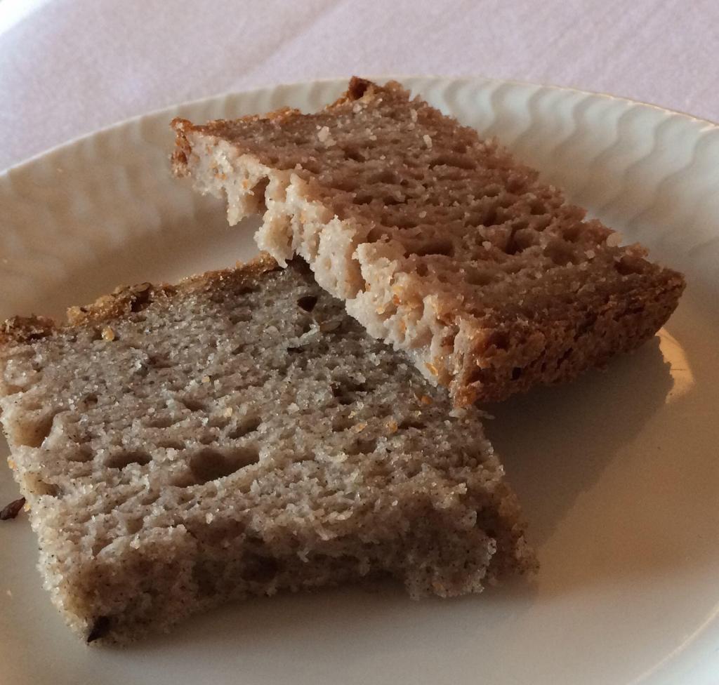l'Auberge la Fenière Restaurant Bread