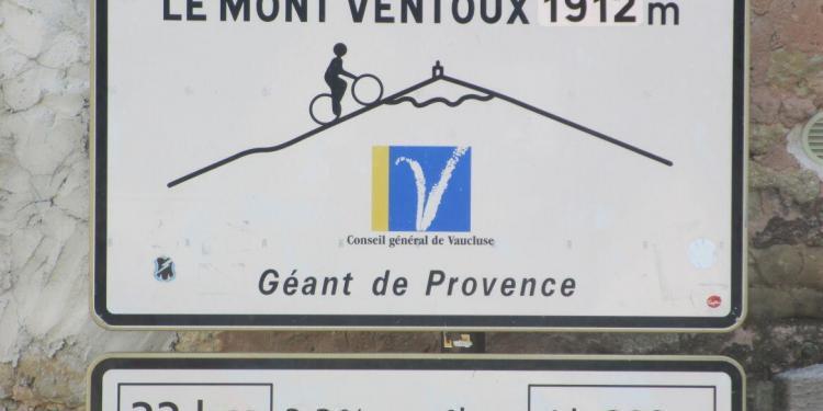 Mont Ventoux Cyclists