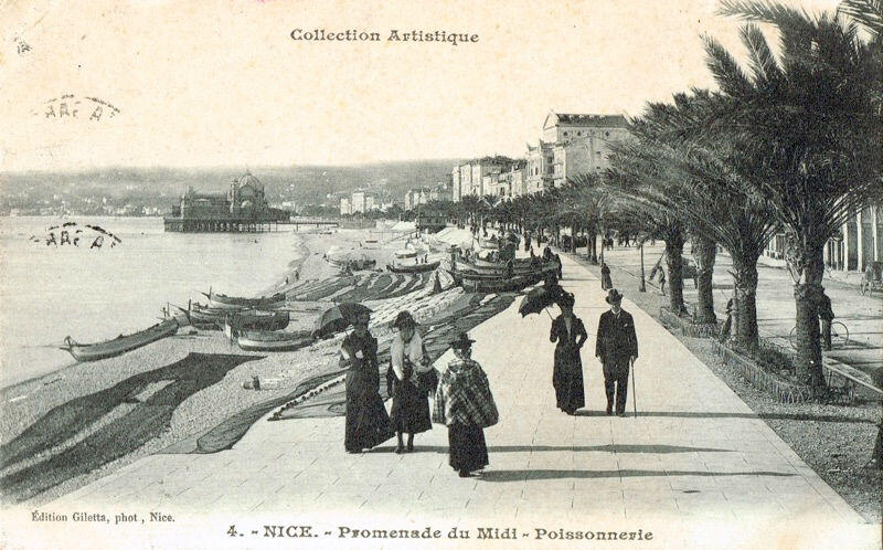 learn the history behind nice 39 s promenade des anglais perfectly provence. Black Bedroom Furniture Sets. Home Design Ideas