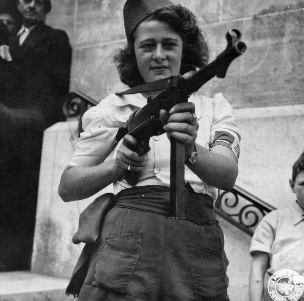 Simone Segouin French Resistance Women