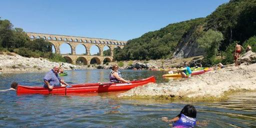 Pont du Gard by Canoe @OurHouseinProvence