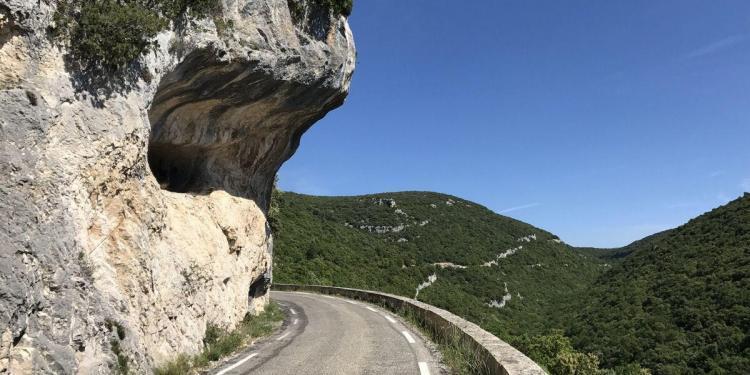 Cycling Gorge de la Nesque