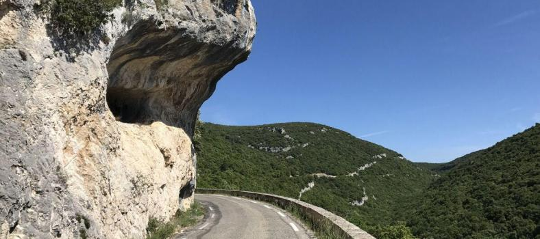 Cycling Gorge de la Nesque