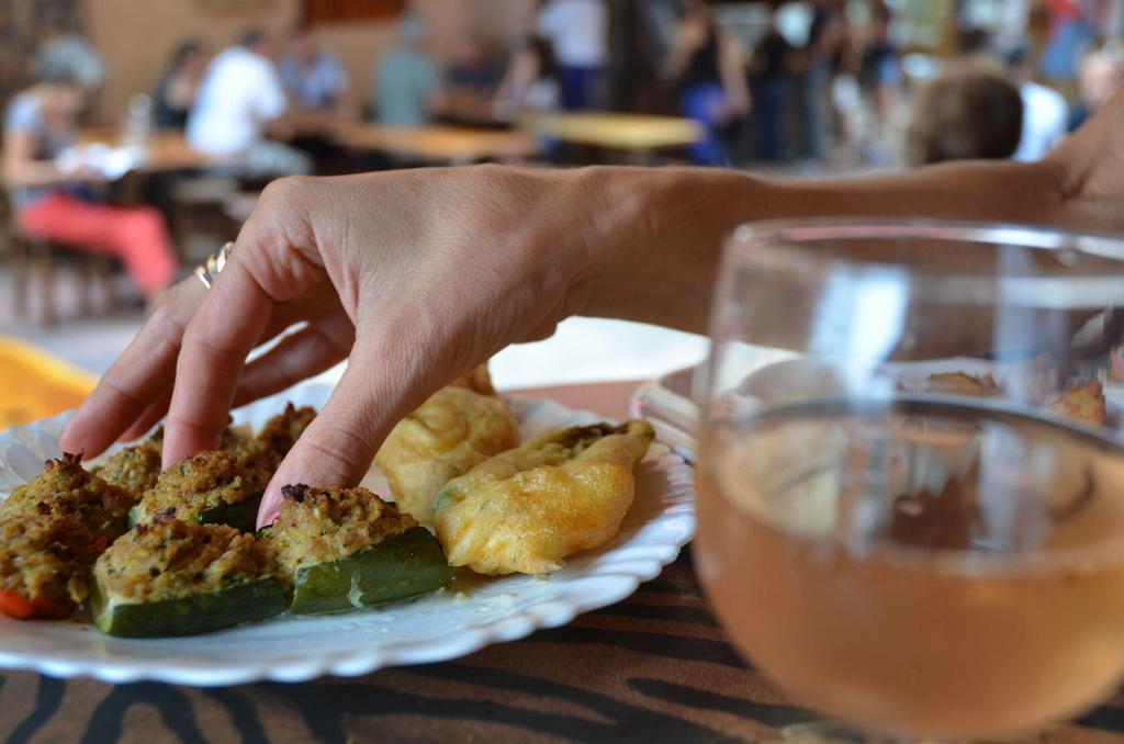 Apero finger food tastes of Nice