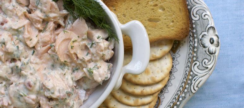 Potted Salmon Recipe Cocoa and Lavender