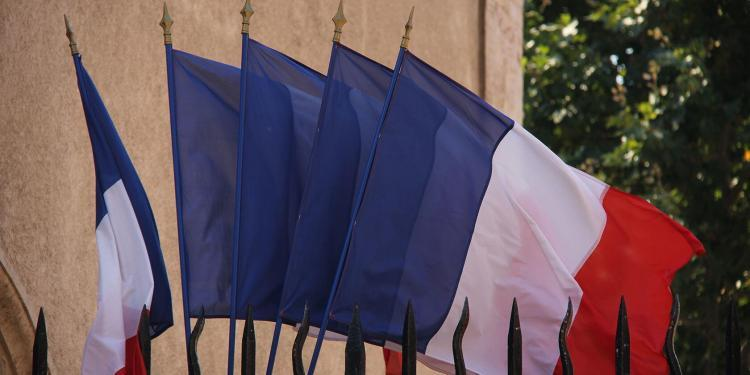 Sous Prefecture French Flag