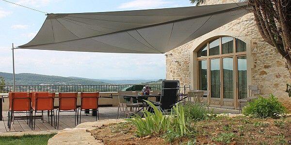 Artesun terrace made to measure Sun Shades