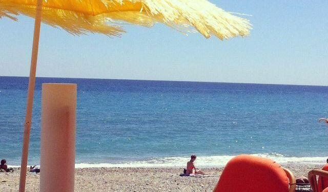 Beach French Riviera Nice Marc Chagall