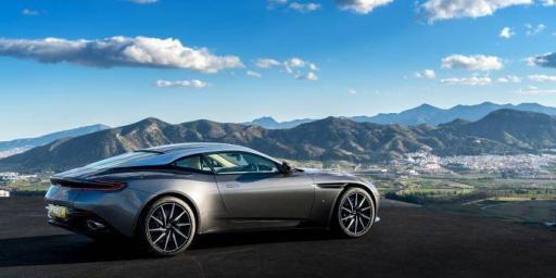 Aston Martin D811 Scenic Drives Close Monaco