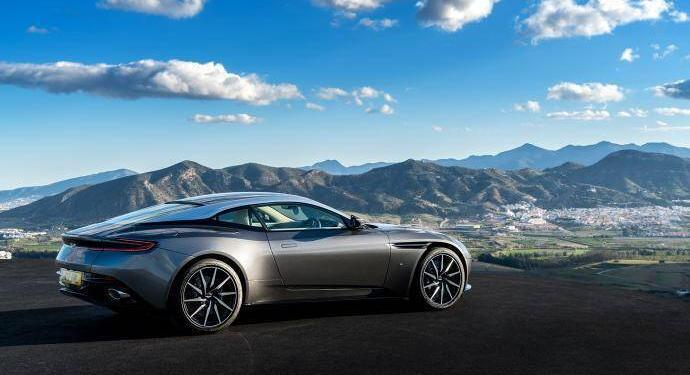 Aston Martin D811 Scenic Drives Close Monaco