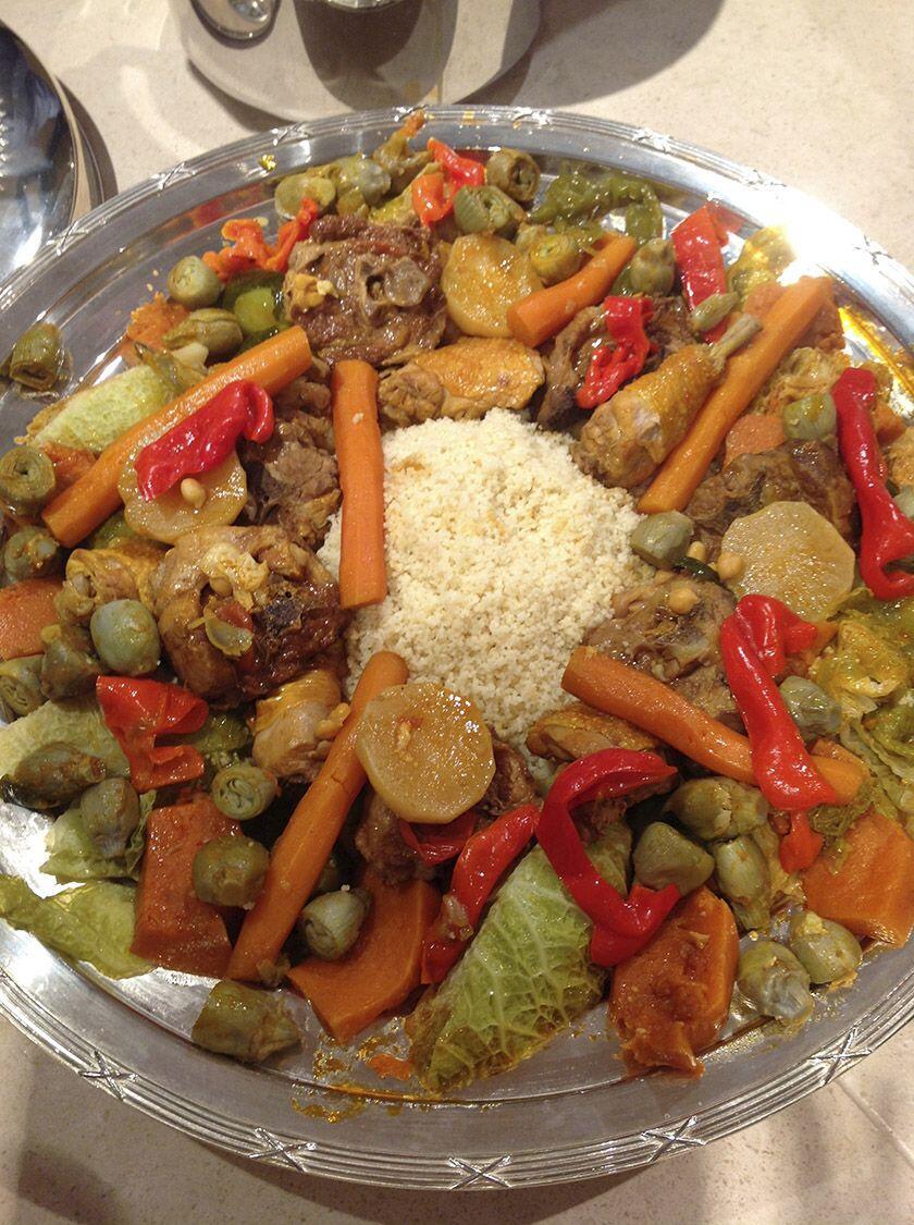 Lamb Chicken Couscous Recipe