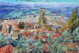 Jill Steenhuis Artist June Events Aix-en-Provence