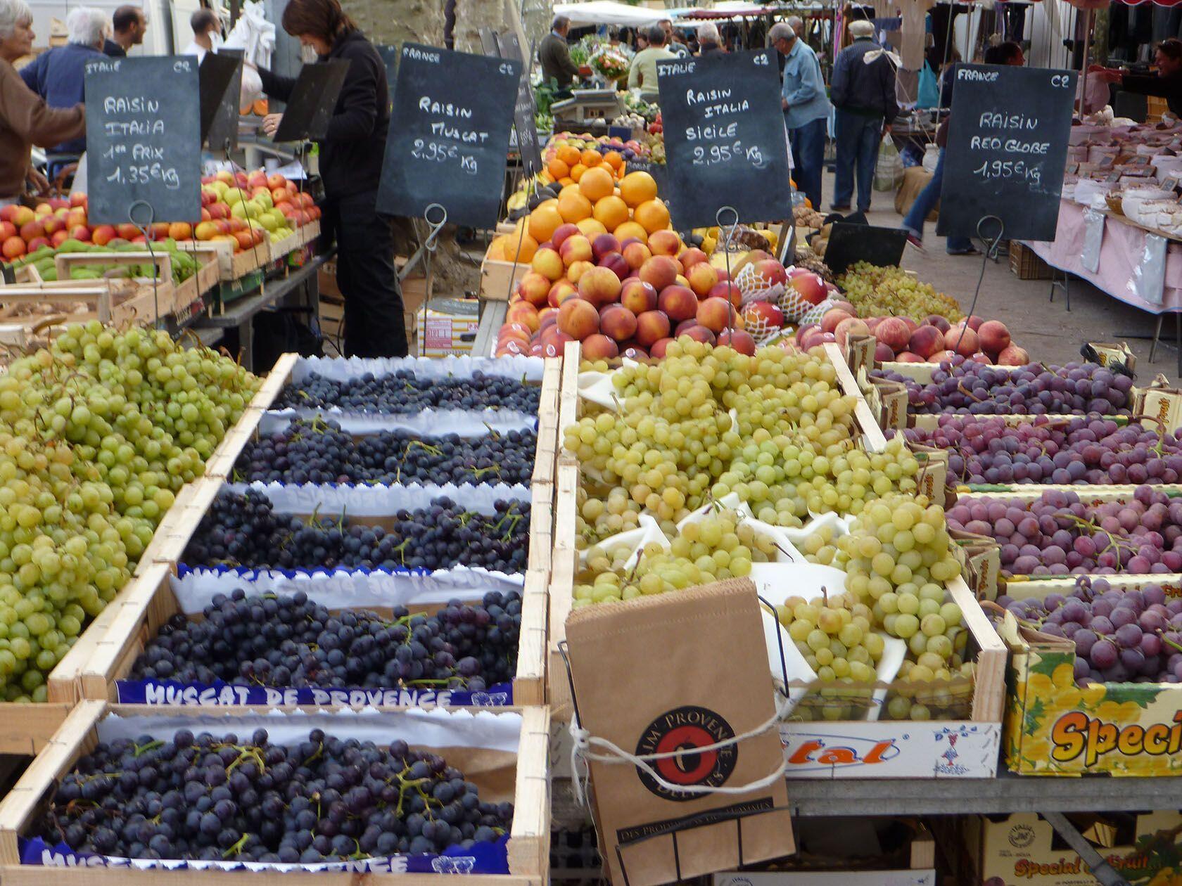 Markets Provence Cote d'Azur St Tropez