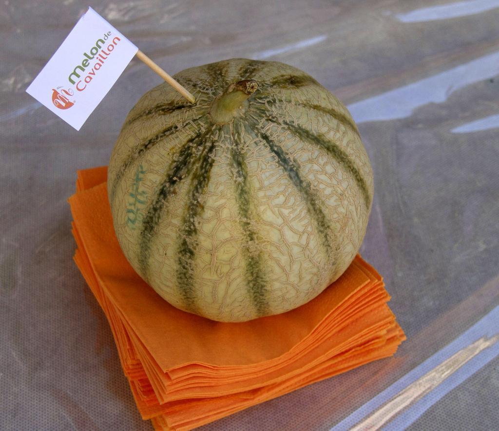Melons of Cavaillon #TastesofProvence #Cavaillon @GingerandNutmeg