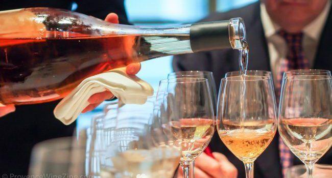 Serious Rosé Wine Tasting
