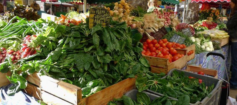 Tender Leeks Spring Markets