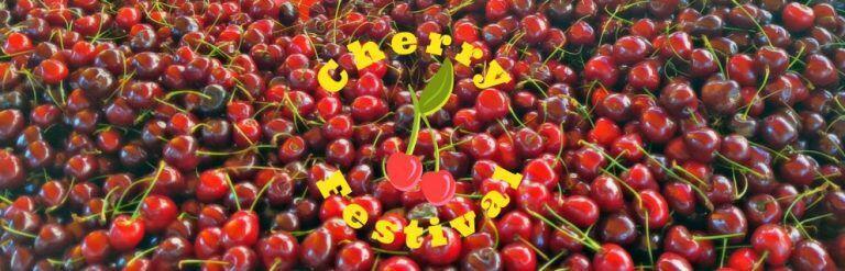annual cherry festival La Roque d'Anthéron