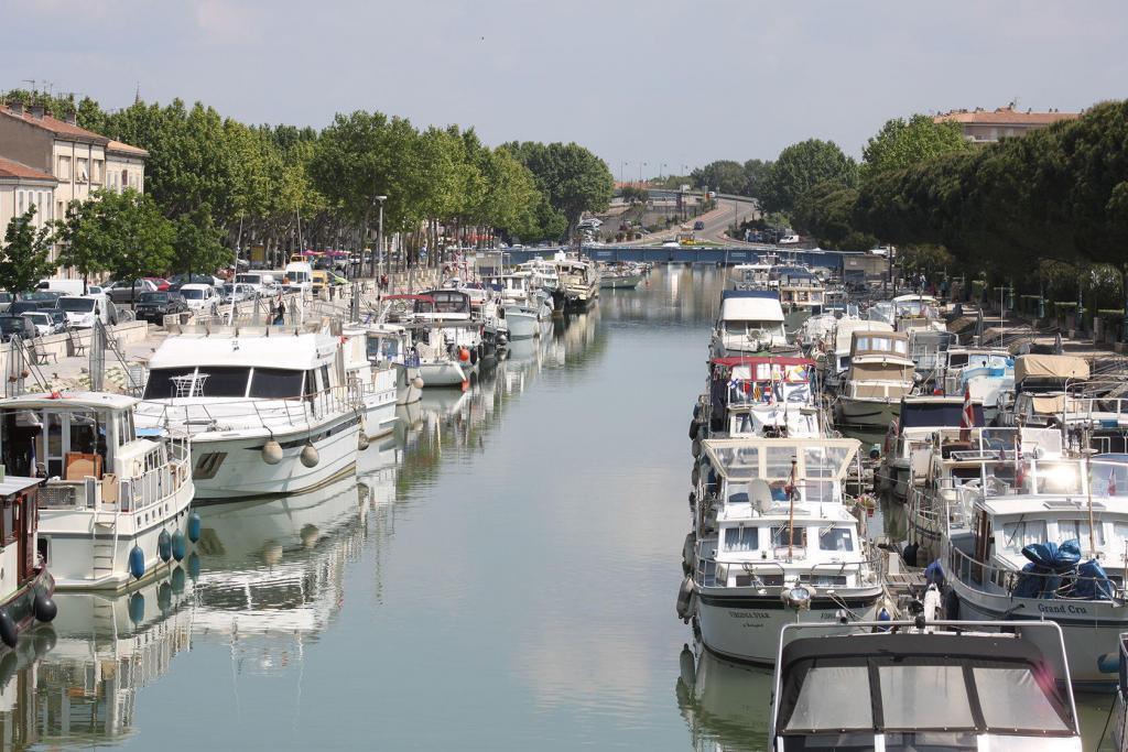 Beaucaire Rhone Sete Canal
