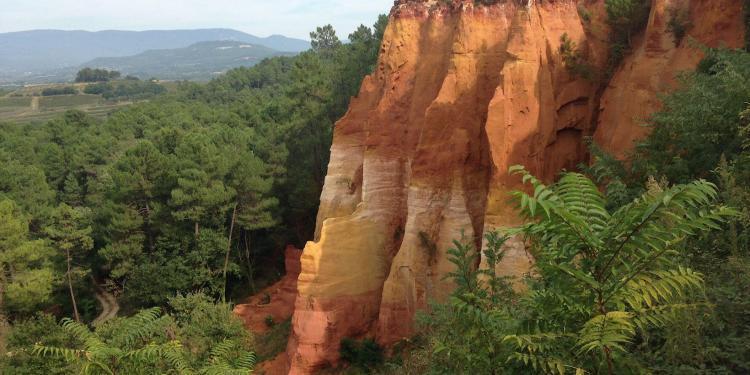 Roussillon Ochre Luberon Colors