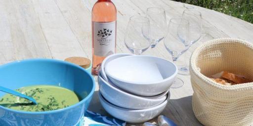 Asparagus Pea Soup Recipe Mirabeau Wine
