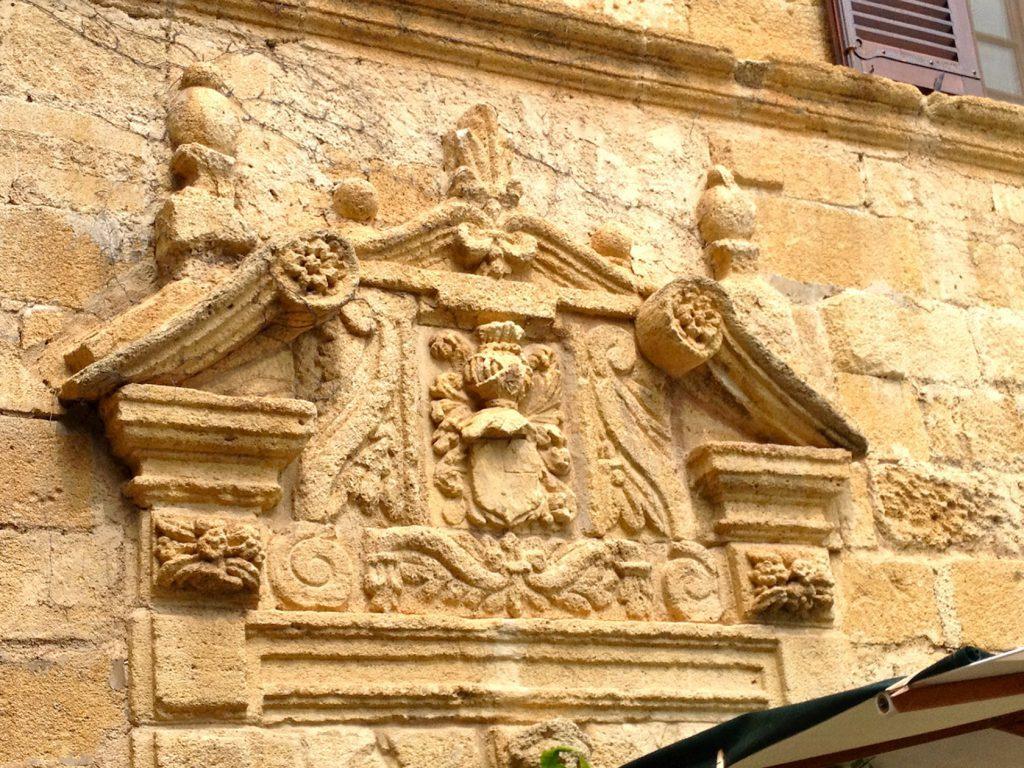 Detail over main entrance La Colombe d'Or St Paul de Vence @CelinaLafuenteDeLavotha
